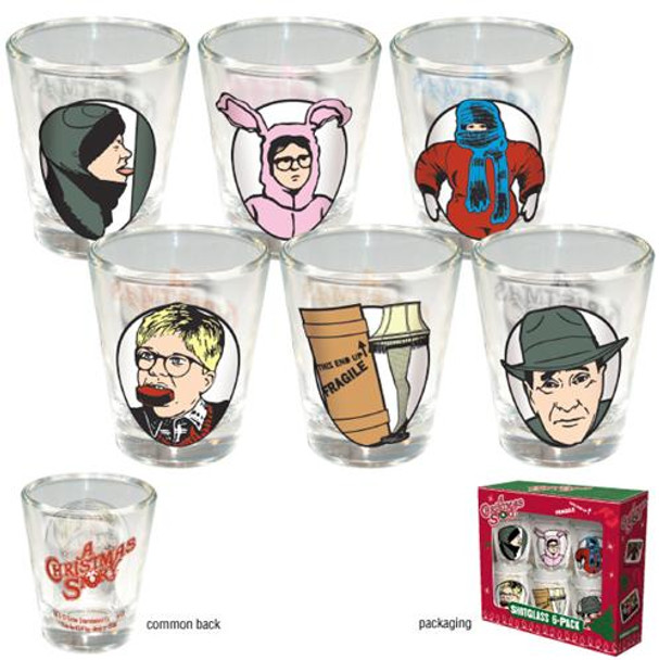 A Christmas Story Shotglass 6-Pack
