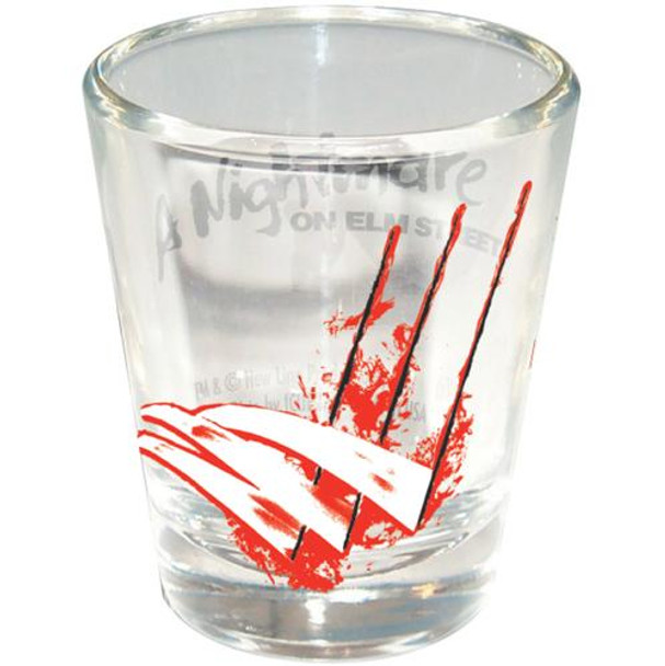 A Nightmare on Elm Street Freddy Scratches Shotglass