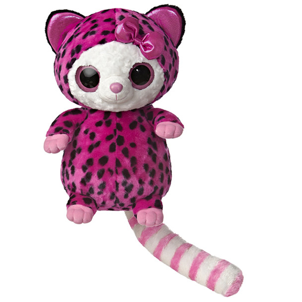 Pammee Pink & Black Cheetah 15-Inch Plush