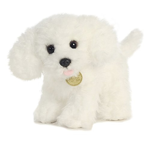 Miyoni Tots Bichon Frise Puppy 7-Inch Plush
