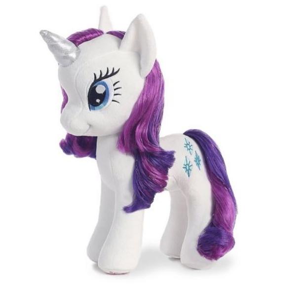My Little Pony Rarity w/ Shimmery Hair 13-Inch Plush