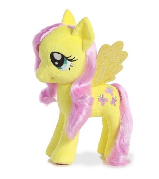 My Little Pony Fluttershy w/ Shimmery Hair 13-Inch Plush