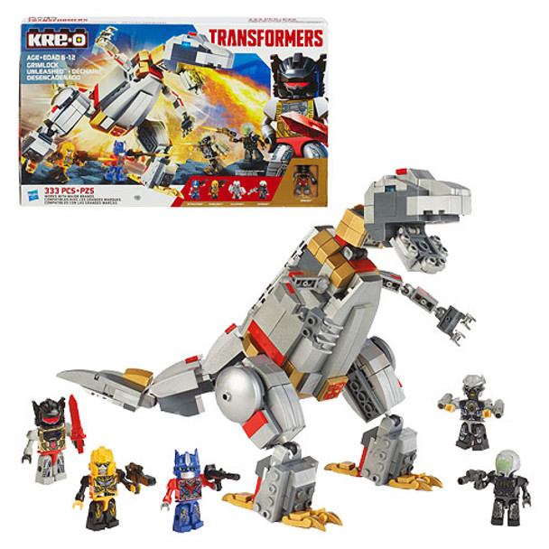 Kre-O Transformers Age of Extinction Grimlock Unleashed Set