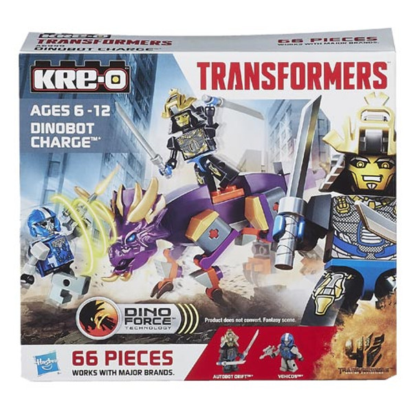 Kre-O Transformers Age of Extinction Dinobot Charge Set