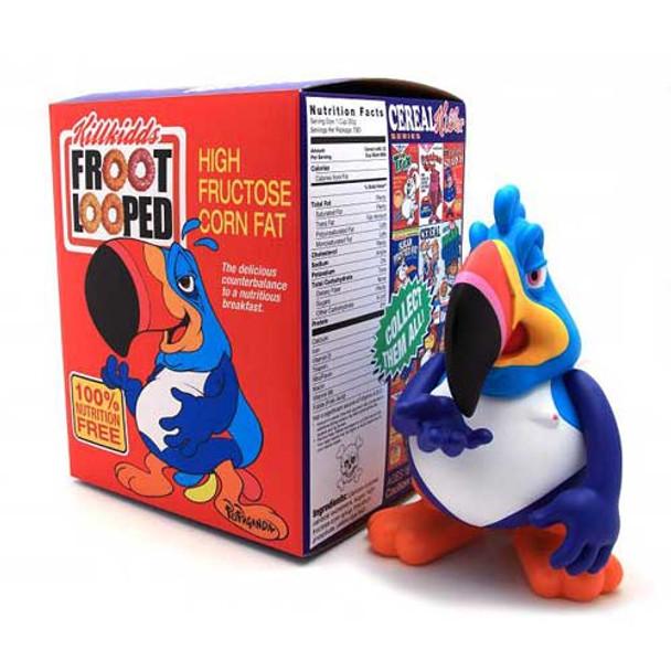 Two Ton Sam Cereal Killer Series Last Fat Breakfast Designer Vinyl Figure