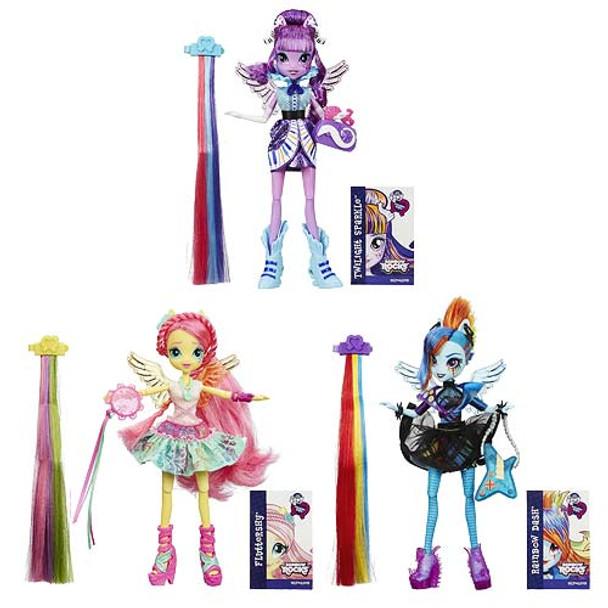 My Little Pony Equestria Girls Rainbow Rocks Hair Wave 1