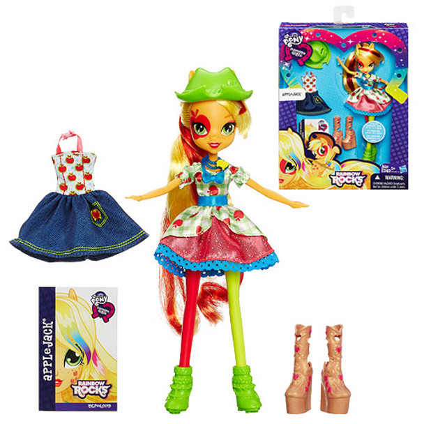 My Little Pony Equestria Girls Rainbow Rocks Applejack Doll