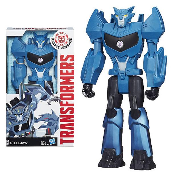 Transformers Robots in Disguise Titan Hero Steeljaw Figure