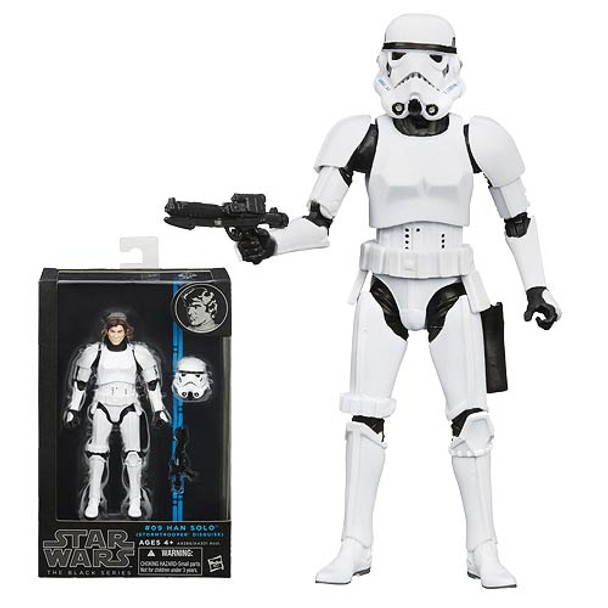 Star Wars The Black Series Han Solo in Stormtrooper Disguise 6-Inch Figure