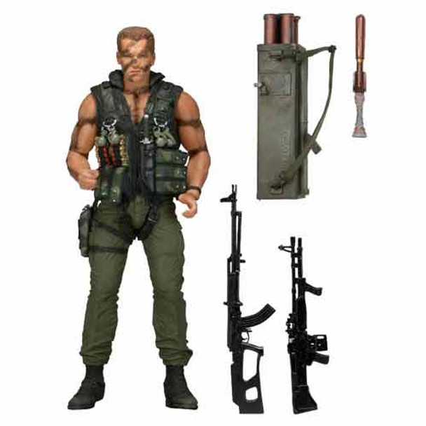 Commando John Matrix Ultimate 30th Anniversary 7-Inch Scale Action Figure