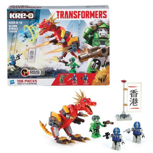 Kre-O Transformers Age of Extinction Scorn Street Chase Set