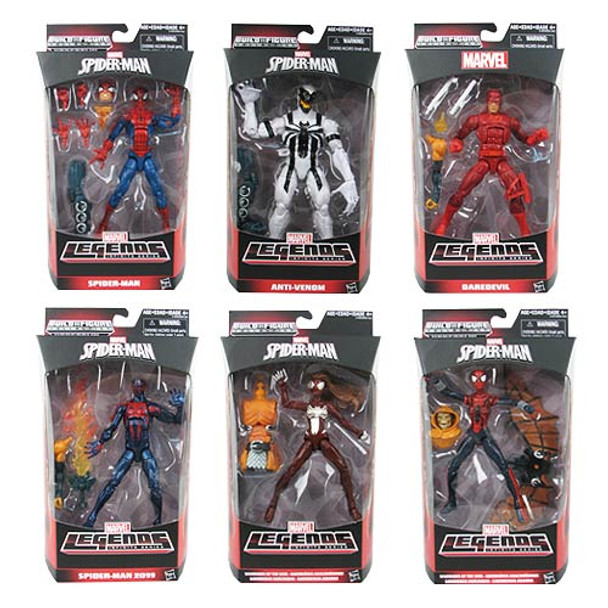 Amazing Spider-Man 2 Marvel Legends Figures Wave 3