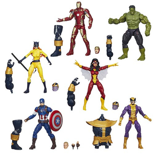 Avengers Marvel Legends Action Figures Wave 2 Set