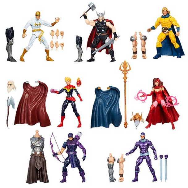 Avengers Marvel Legends Infinite Action Figures Wave 1 Set