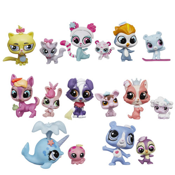 Littlest Pet Shop Pet Pawsabilities Mini-Figures Wave 2