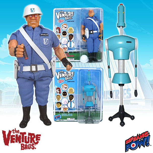 The Venture Bros. Sgt. Hatred and H.E.L.P.eR Figures Set
