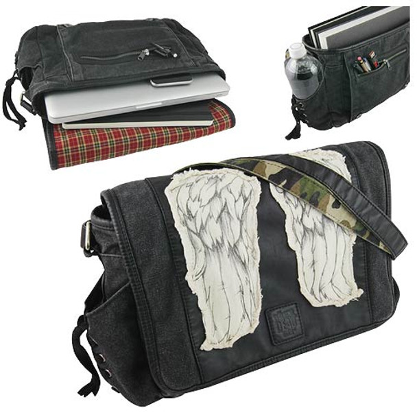 The Walking Dead Daryl Dixon Wings Mini Messenger Bag