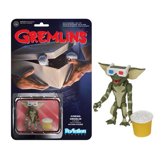 Gremlins Cinema Gremlin ReAction 3 3/4-Inch Retro Action Figure