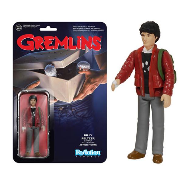 Gremlins Billy Peltzer ReAction 3 3/4-Inch Retro Action Figure