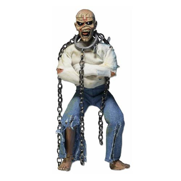 Iron Maiden Eddie Piece of Mind Retro Clothed 8-Inch Action Figure
