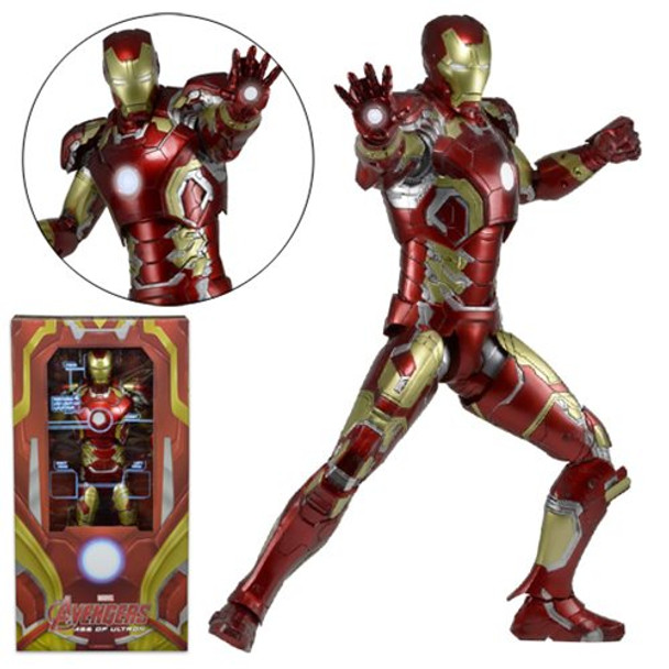 Avengers: Age of Ultron Iron Man Mark 43 1:4 Scale Action Figure