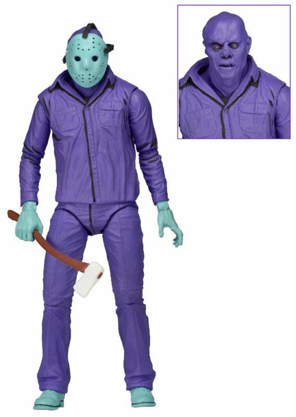 Friday the 13th Jason Video Game with Theme Music Packaging 7-Inch Scale Action Figure