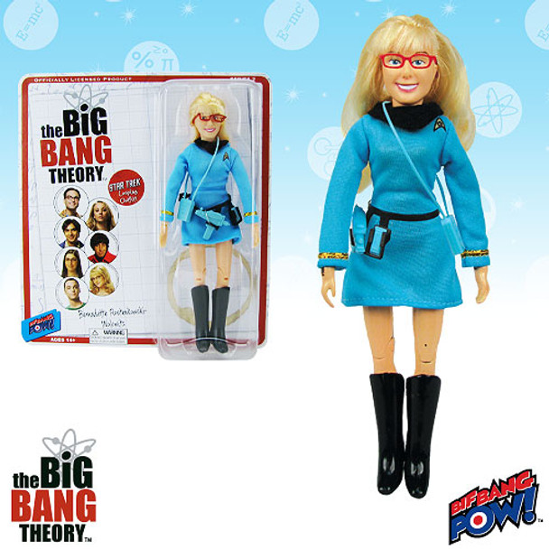 The Big Bang Theory / Star Trek: The Original Series Bernadette 8-Inch Figure
