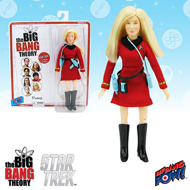 The Big Bang Theory / Star Trek: The Original Series Penny 8-Inch Action Figure