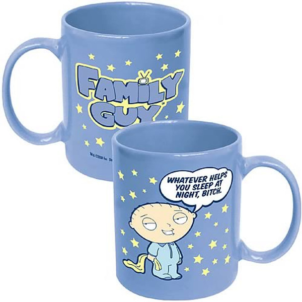 Family Guy Whatever Helps You Sleep At Night, Bitch Mug