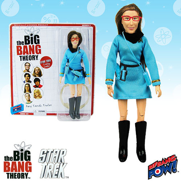 The Big Bang Theory / Star Trek: The Original Series Amy 8-Inch Action Figure