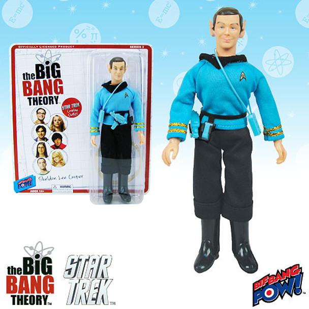 The Big Bang Theory/Star Trek: The Original Series Sheldon Spock 8-Inch Figure
