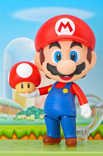Super Mario Bros. 4-Inch Mario Nendoroid Action Figure