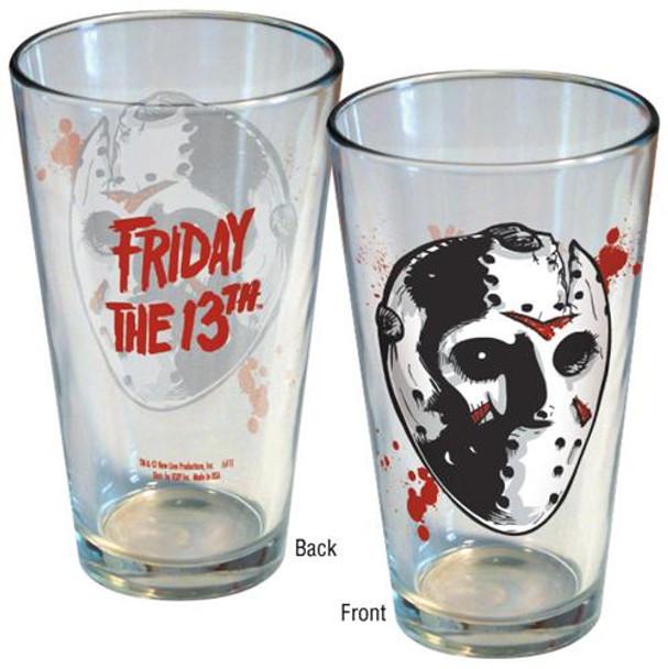 Friday the 13th Jason Hockey Mask Pint