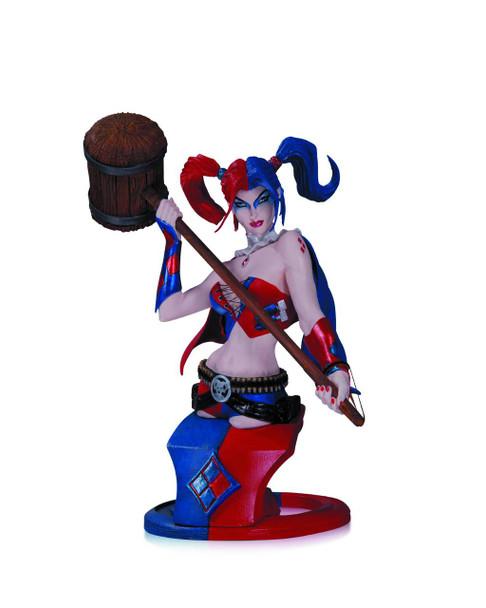 DC Comics Super Villains Harley Quinn Bust