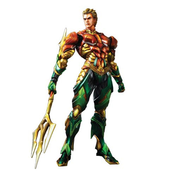 Aquaman DC Comics Play Arts Kai Variant Action Figure