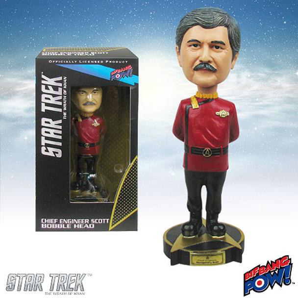 Star Trek II: The Wrath of Khan Chief Engineer Scotty Bobble Head