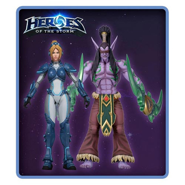 Heroes of the Storm 7-Inch Action Figure Set
