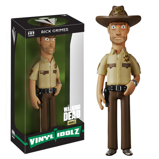 The Walking Dead Rick Grimes Vinyl Idolz Figure