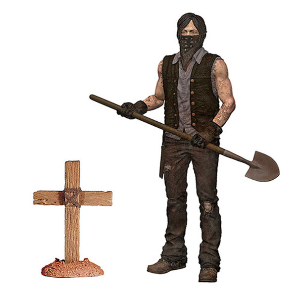 The Walking Dead TV Series 9 Grave Digger Daryl Dixon Figure