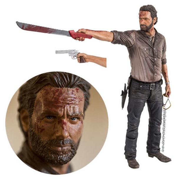 The Walking Dead TV Rick Grimes Vigilante Edition 10-Inch Deluxe Action Figure