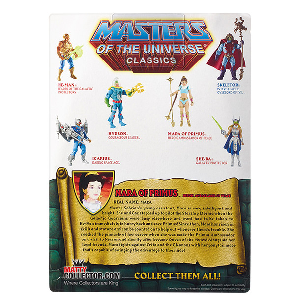 Masters Of The Universe Classics Mara of Primus Figure