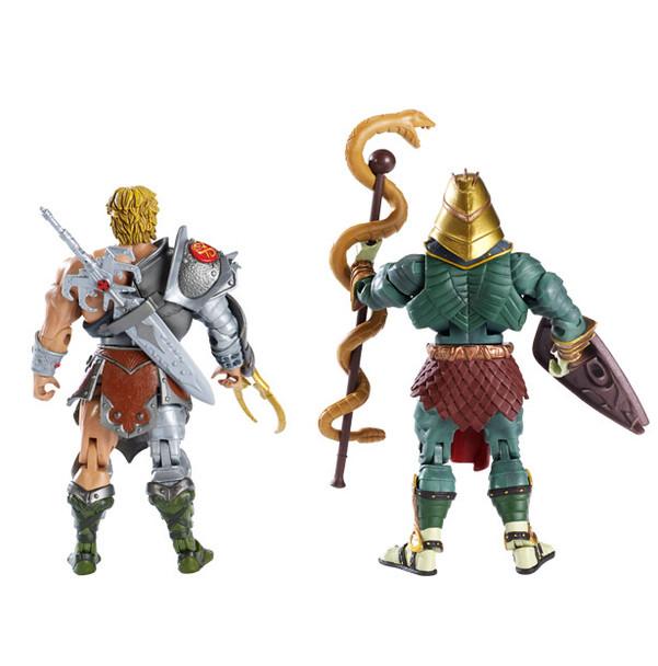 MOTU Snake Armor He-Man & Battle Armor King Hsss Figures
