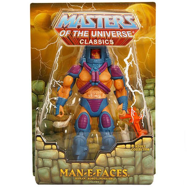 Masters Of The Universe Classics Man-E-Faces Figure