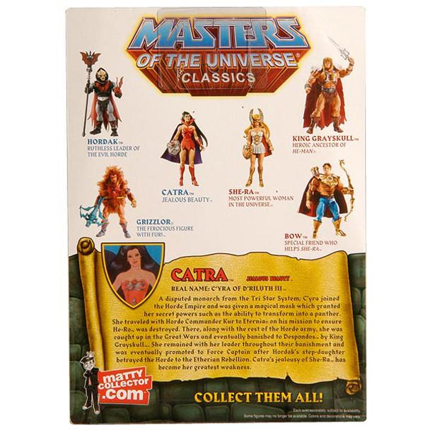 Masters Of The Universe Classics Catra Figure