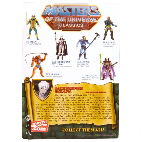 Masters Of The Universe Classics Battleground Evil-Lyn Figure