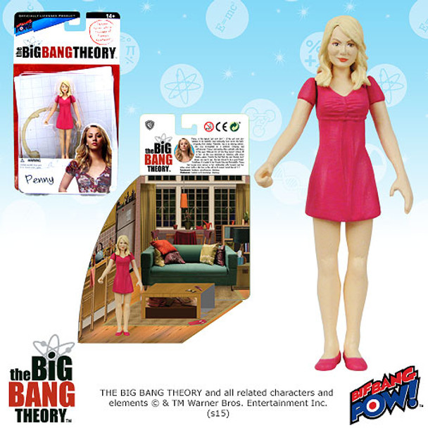 The Big Bang Theory Penny 3 3/4-Inch Action Figure Series 1