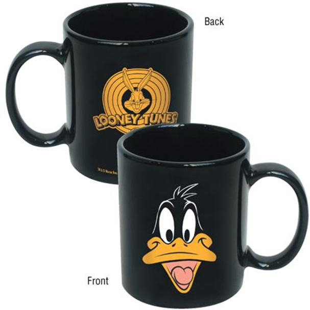 Looney Tunes Daffy Duck Face Coffee Mug