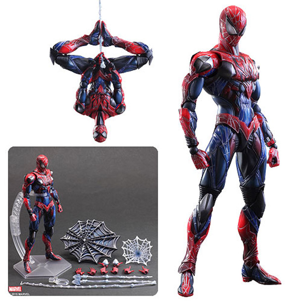 Marvel Universe Spider-Man Play Arts Kai Action Figure