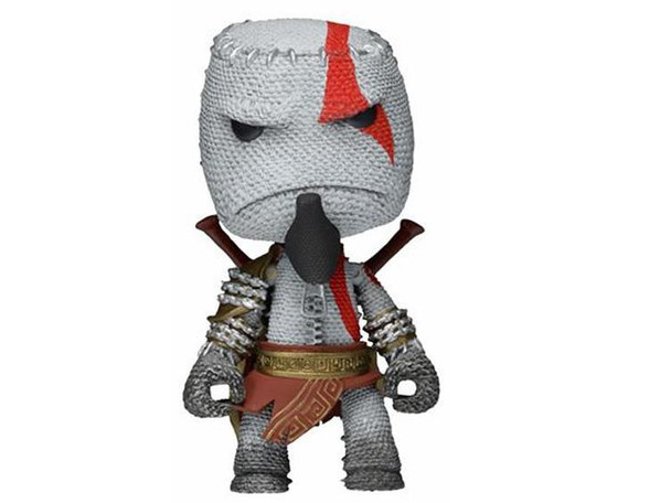 LittleBigPlanet 7-Inch Scale Series 1 Kratos Sackboy Action Figure