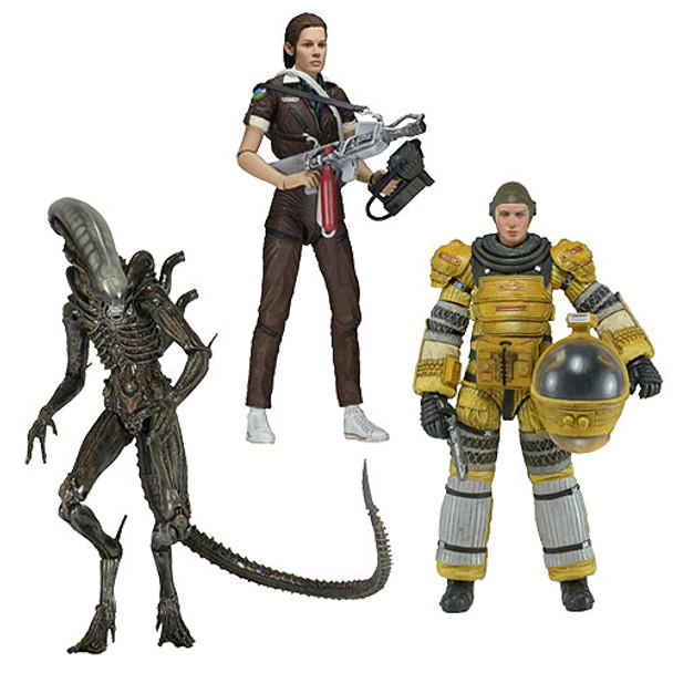 Aliens Series 6 Action Figure Set